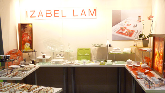 Izabel Lam New York Booth November 2011